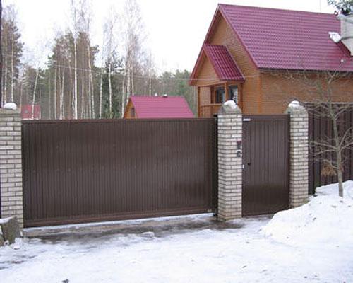 Ворота для дачи в подольске ворота откатные авито самара куплю ворота